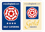 Visit Britain 4 star rating Visit Britain Gold accolade
